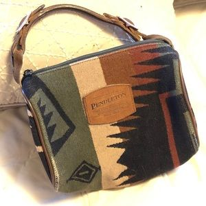 Pendleton satchel wool blend bag